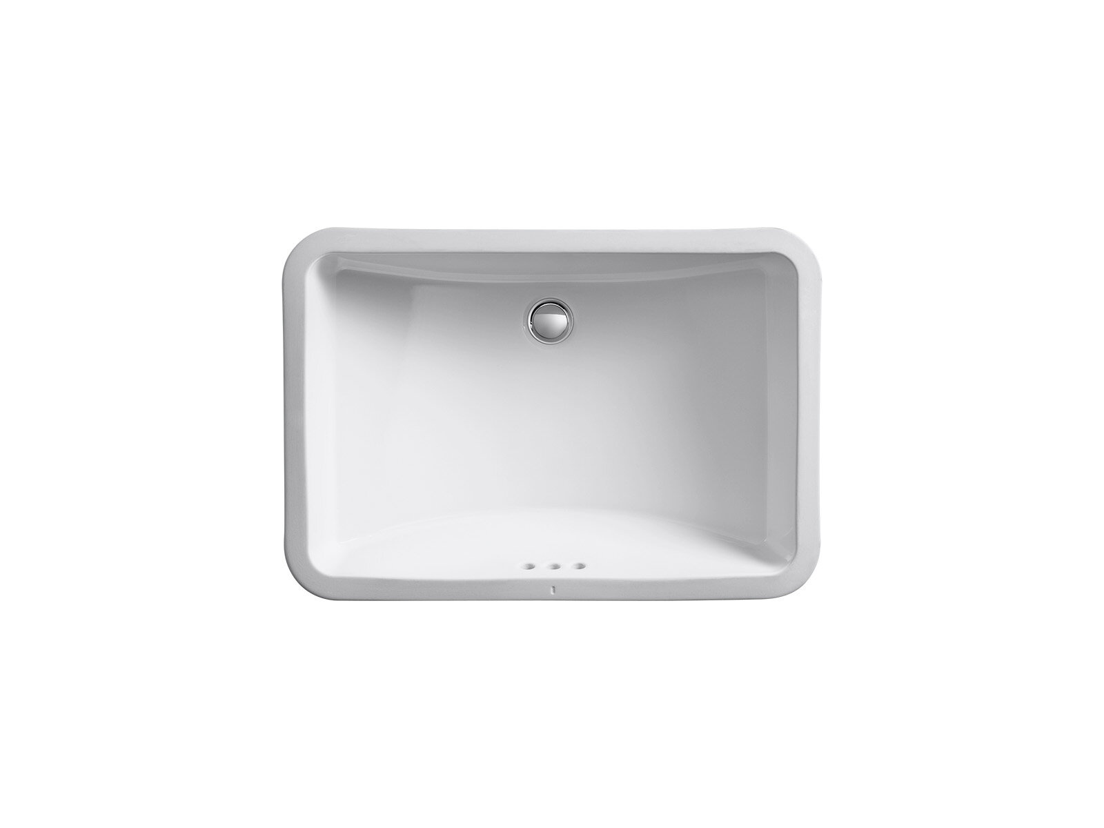 Ladena Ceramic Rectangular Undermount Bathroom Sink With Overflow Reviews Allmodern