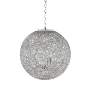 Morganna 3-Light Geometric Chandelier by Orren Ellis