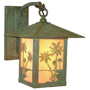 Timber Ridge 1-Light Outdoor Wall Lantern