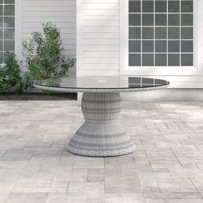 Falmouth Round 30 Inch Table by Sol 72 Outdoor Discount