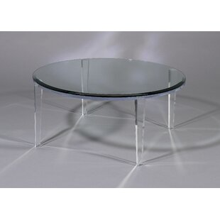 Shahrooz Angelo Coffee Table with Glass Top