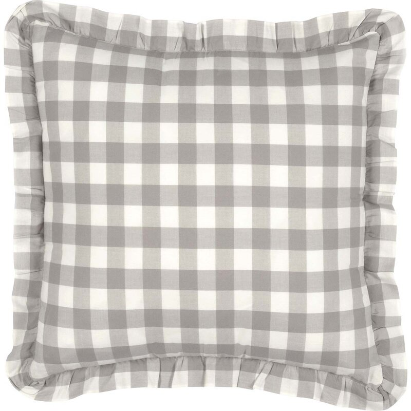 Caulder Buffalo Check 100% Cotton Throw Pillow