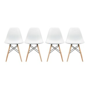 Aleena Solid Wood Dining Chair (Set of 4) by Corrigan Studio