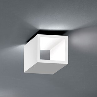 ZANEEN design Semi 1-Light LED Flush Mount