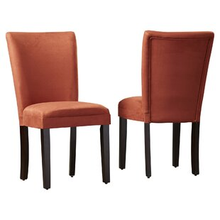 Willington Parsons Chair (Set of 2) Alcott Hill