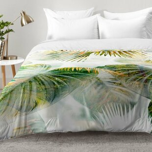 East Urban Home Tropical Lush Comforter Set
