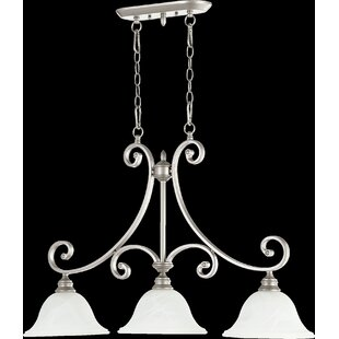 Andover Mills Asheville Transitional 3-Light Kitchen Island Pendant