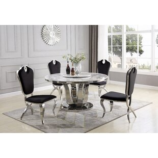 Ty 6 Piece Dining Set by Everly Quinn Reviews