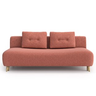 Ahlstrom 4 Seater Clic Clac Sofa Bed By Brayden Studio