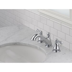 Haywood Double Handle Widespread Bathroom Faucet