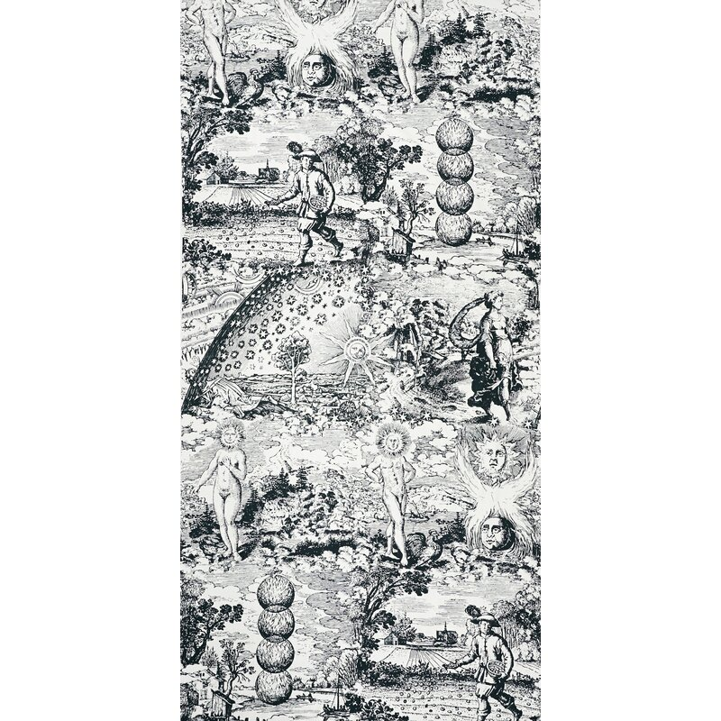 Schumacher Modern Toile Fabric Wayfair