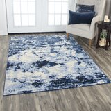 Everything Old Is New Again Blue/Beige Area Rug