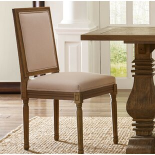 Homeland Upholstered Dining Chair (Set of 2) Three Posts