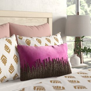 Nyman Beaded Cotton Lumbar Pillow