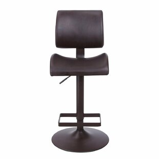 Adeco Trading Adjustable Height Bar Stool