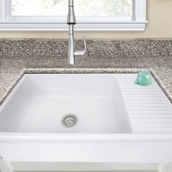 Farmhouse Sink With Drain Board | Wayfair
