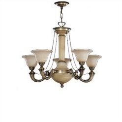 Zanin Lighting Inc. Santos 5-Light Shaded Chandelier