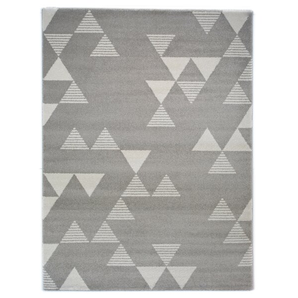 Balta Elle Geometric Gray Area Rug Wayfair