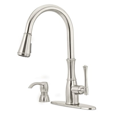 Pfister Stainless Steel Pull Down Faucet Pull Down