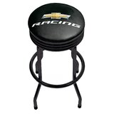 Chevy Racing Ribbed 29 Swivel Bar Stool by Trademark Global