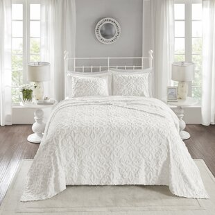 Keeney Chenille 3 Piece Coverlet Set