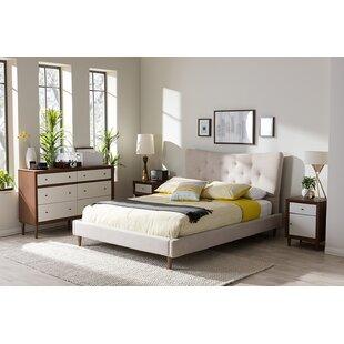 George Oliver Berard Upholstered Platform Bed