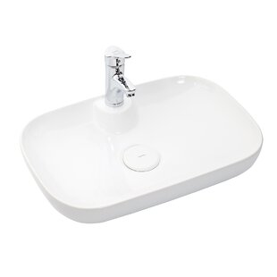 Affordable Vision Ceramic Specialty Vessel Bathroom Sink ByWS Bath Collections