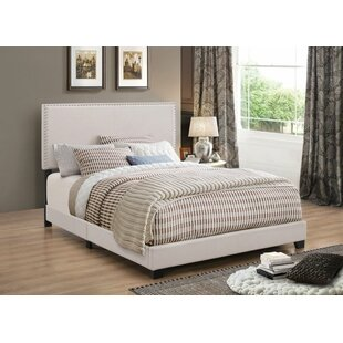 Charlton Home Sheldon Upholstered Panel Bed