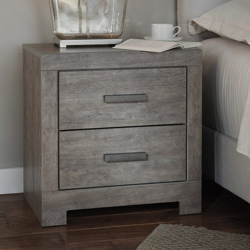 rosen 2 drawer nightstand