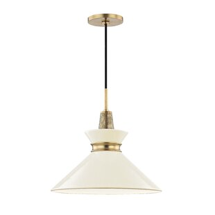 George Oliver Cruce 1-Light Cone Pendant