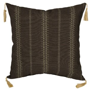 Trevor Stripe Outdoor Throw Pillow (Set of 2)