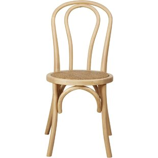 Altair Solid Wood Dining Chair (Set Of 2) By August Grove
