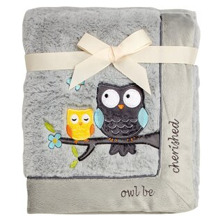 Compare prices Owl Be Cherished Plush Baby Blanket By Koala Baby