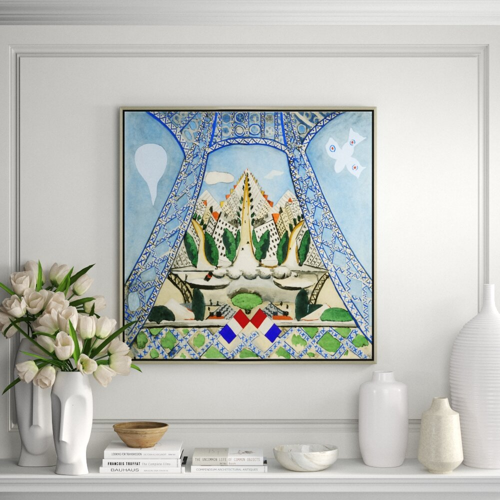 Soicher Marin Under The Eiffel Tower Painting Print On Canvas Perigold