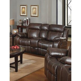 Nygaard Motion Reclining Loveseat by Red ..