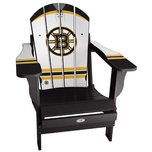 My Custom Sports Chair NHL Away Plastic Folding Adirondack Chair