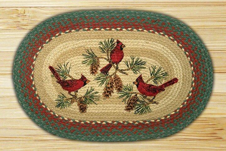 Cardinals Printed Area Rug