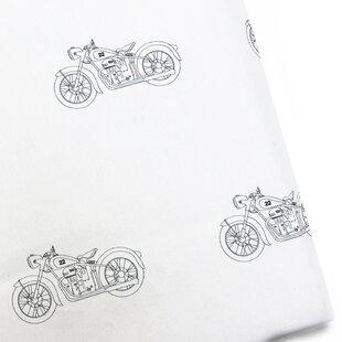 Pemberley Rose Motorcycle 220 Thread Count 100% Cotton Sateen Sheet Set