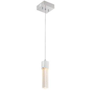 Ayoub 1-Light Cylinder Pendant by Orren Ellis