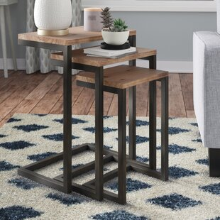Online Reviews Cetus 3 Piece Nesting Tables By Mercury Row