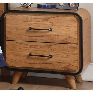 Affordable Price Naylor 2 Drawer Nightstand by Union Rustic Reviews (2019) & Buyer's Guide