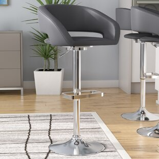 Looking for Nolte Adjustable Height Swivel Bar Stool by Orren Ellis Reviews (2019) & Buyer's Guide