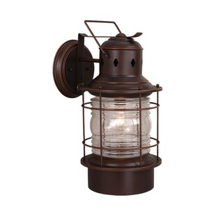 Bimini 1-Light Outdoor Wall Lantern