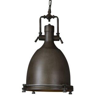1-Light Bell Pendant by Highlight USA