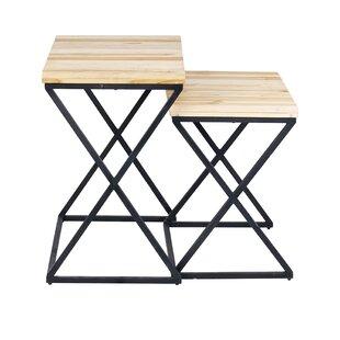 Preesall 2 Piece Nesting Tables by Gracie Oaks