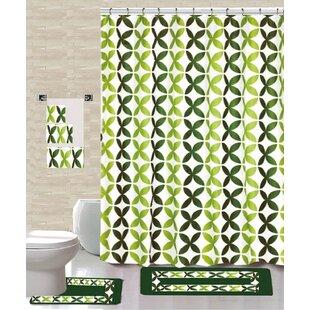 Best Choices 18 Piece Shower Curtain Set ByDaniels Bath