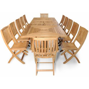 Regal Teak Sanibel Grand Teak 13 Piece Dining Set
