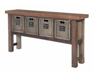 Loon Peak Allensby Reclaimed Wood Console..