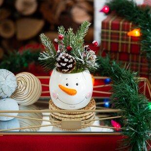 Ceramic Snowman Wayfair