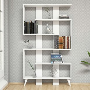 Gayton Modern Geometric Bookcase by Ebern Designs